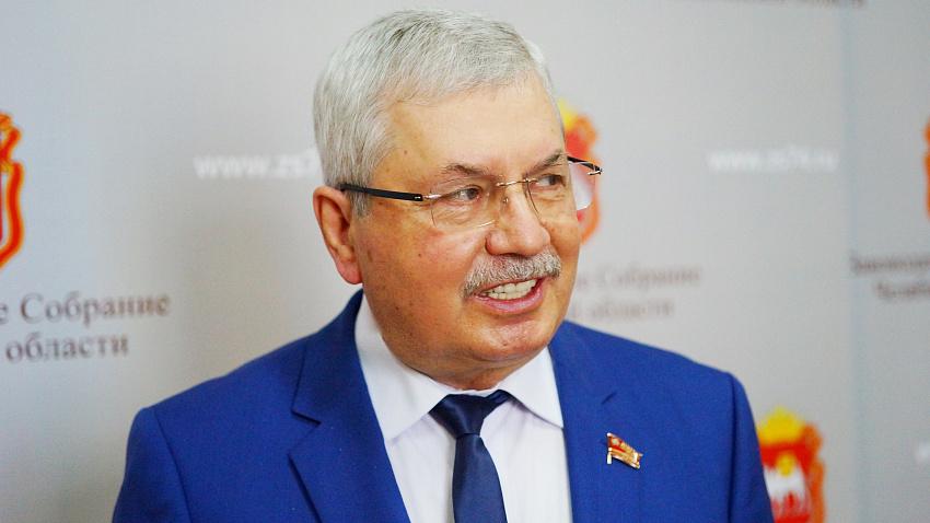 Владимир Мякуш в пятый раз возглавил Законодательное собрание Челябинской области