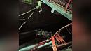 Автомобиль вылетел в шлюз гидроузла в Миньяре