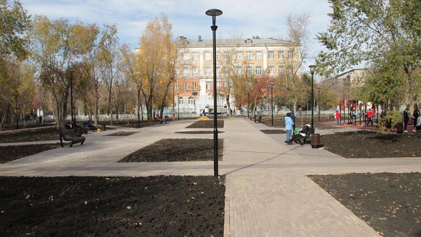 В Челябинске завершается сезон благоустройства