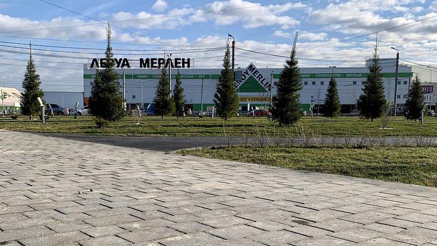 В Ленинском районе Челябинска завершился первый этап благоустройства