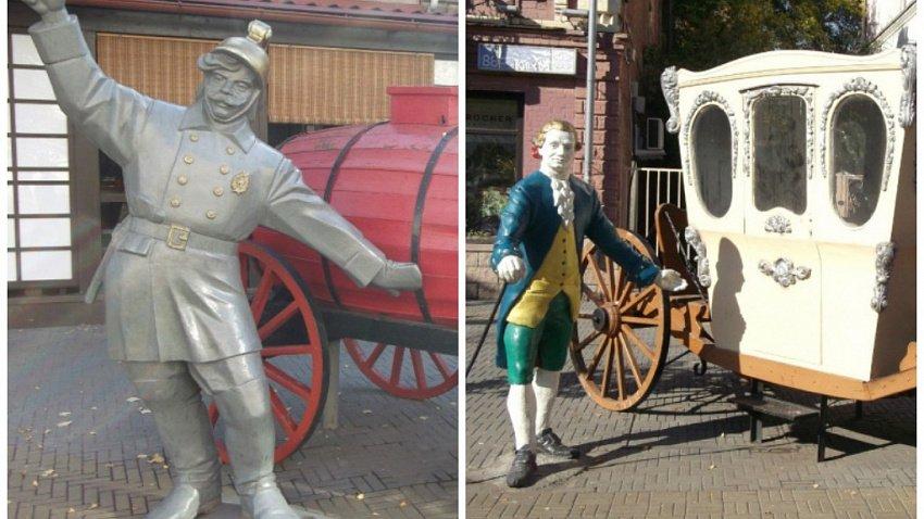 В Челябинске несколько скульптур с Кировки перенесут в горсад имени Пушкина