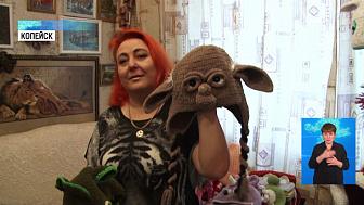 Жительница Копейска создаёт зверо-шапки
