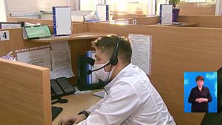 Студенты-медики помогают врачам