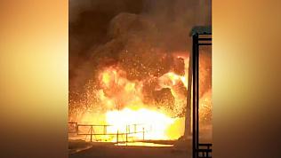 Момент взрыва в челябинской горбольнице №2 попал на видео
