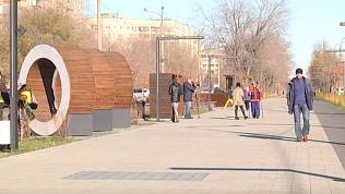 Второй этап строительства бульвара «Огни Магнитки» завершили вМагнитогорске
