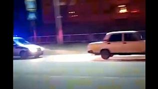 Погоню за пьяным водителем устроили сотрудники ДПС вКаслинском районе