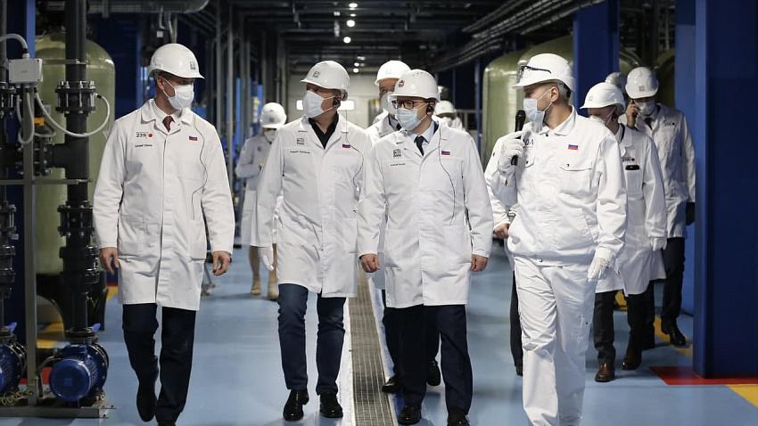 ЧТПЗ запустил новый комплекс очистки стоков