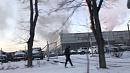 В Челябинске вавтоцентре «Сатурн» произошёл пожар