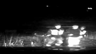 В Симе пьяный водитель устроил гонки с полицейскими: оперативное видео
