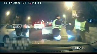 Оперативное видео задержания автоугонщика