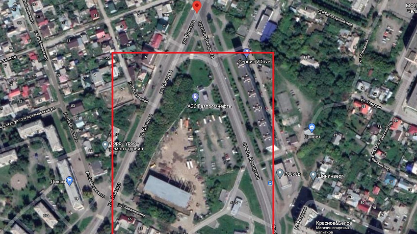 Власти опровергли информацию о строительстве автовокзала в Тракторозаводском районе