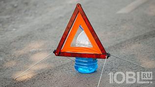 В Челябинске врезультате ДТП пострадал человек