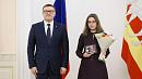 Алексей Текслер вручил медали многодетным мамам изЧелябинской области