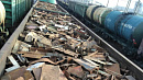 Подросток изЧелябинской области сбросил издвижущегося поезда 260килограммов металла