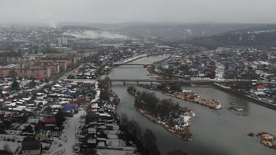Южный Урал. Троицк