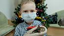 Кроха-котёнок исполнил мечту мальчика сраком крови из Челябинской области