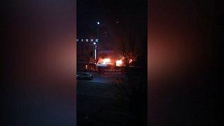 Шашлычная сгорела в Челябинске