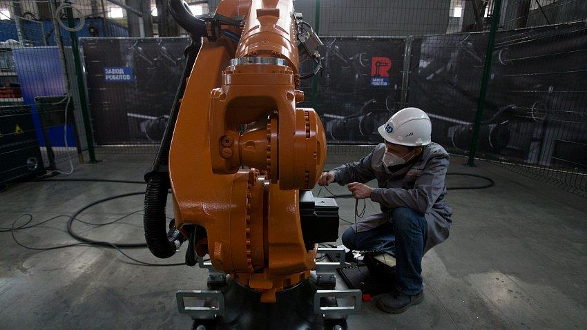 В Челябинске будут выпускать промышленных роботов