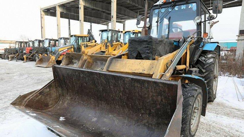 В Челябинске проверяют готовность уборочной техники к снегопадам
