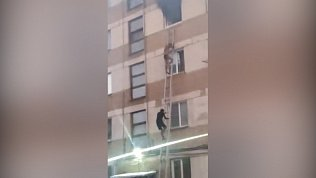 Страшный пожар в Металлургическом районе: видео очевидцев