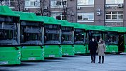 Челябинский автопарк пополнился 36новыми экологичными автобусами