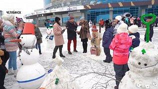 Флешмобы снеговиков пройдут на Южном Урале