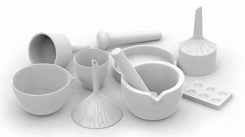 Керамическая лабораторная посуда: свойства и преимущества