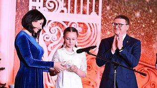 Алексей Текслер поздравил талантливых детей снаступающим Новым годом