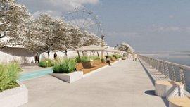 В Челябинске на набережной возле КРК «Мегаполис» проведут масштабную реконструкцию