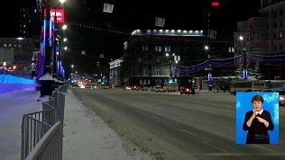 Утром Челябинск встал в 9-ти бальных пробках