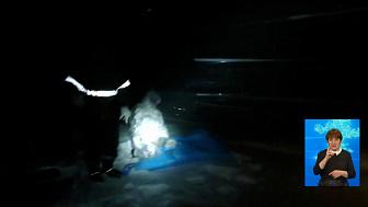 Рыбаков в палатках спасли
