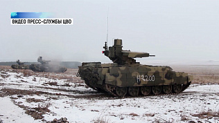 Партию из восьми «Терминаторов» доставили в уральскую танковую дивизию