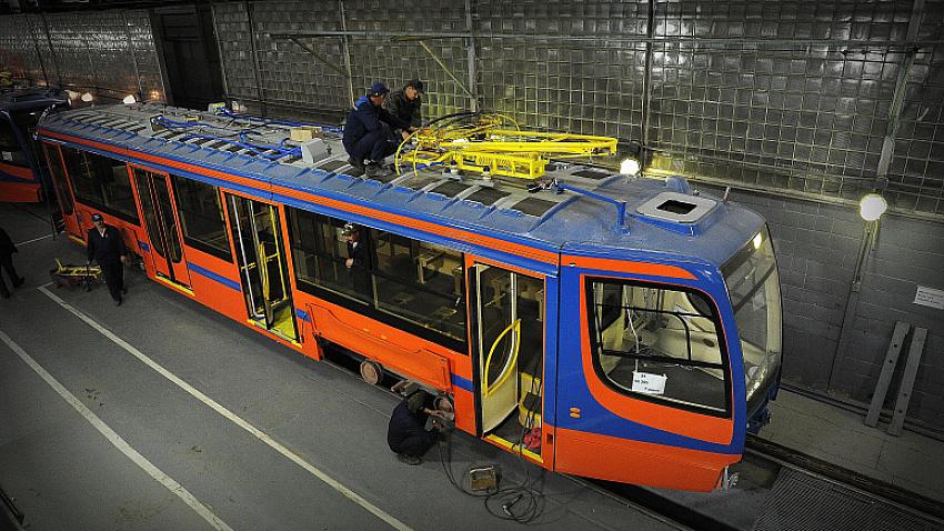 Усть-Катавский вагоностроительный завод увеличит выпуск трамваев