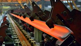 Экспорт рельсовой продукции ЧМК вырос на 74%
