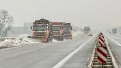 В Верхнеуральском районе в снежном заторе застряли девять автомобилей