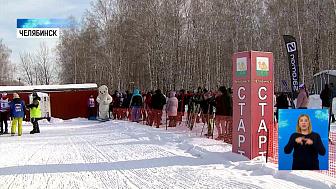 23 февраля отметили лыжным забегом