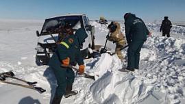 С дорог Челябинской области эвакуировали 419 машин, застрявших во время бурана