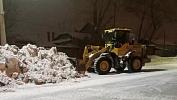 Минувшей ночью челябинские дорожники вывезли более двух тысяч тонн снега