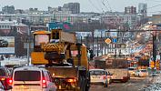 На дорогах Челябинска образовались восьмибалльные пробки