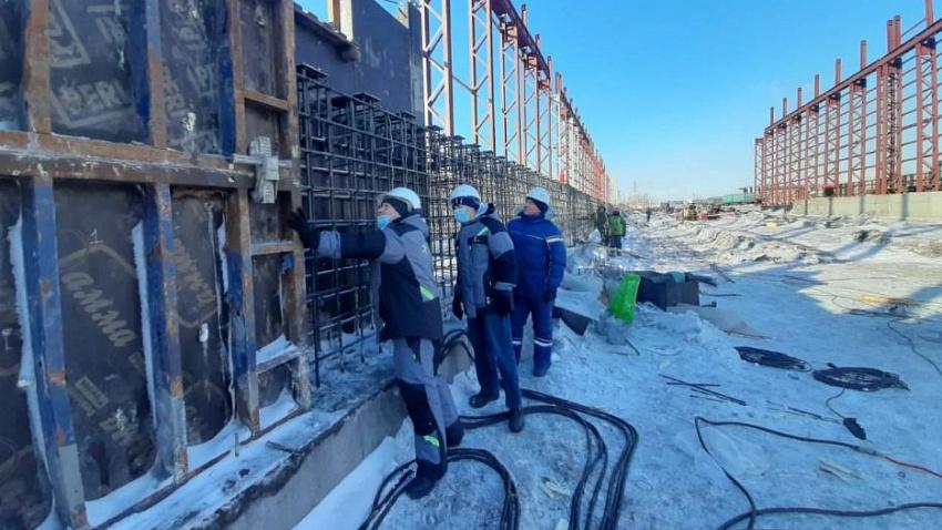 На Челябинском цинковом заводе строят склад концентратов