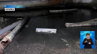 Посёлок Октябрьский топит канализацией