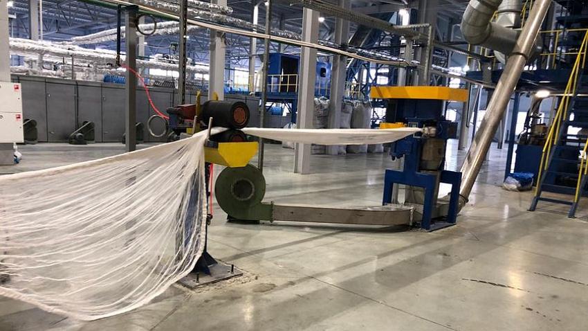 «Втор-Ком» начал производство синтетического волокна из вторсырья