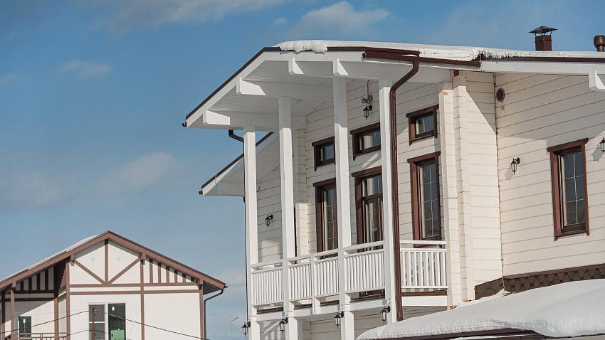 В Белом хуторе начали продажу домов «президентского поселка»