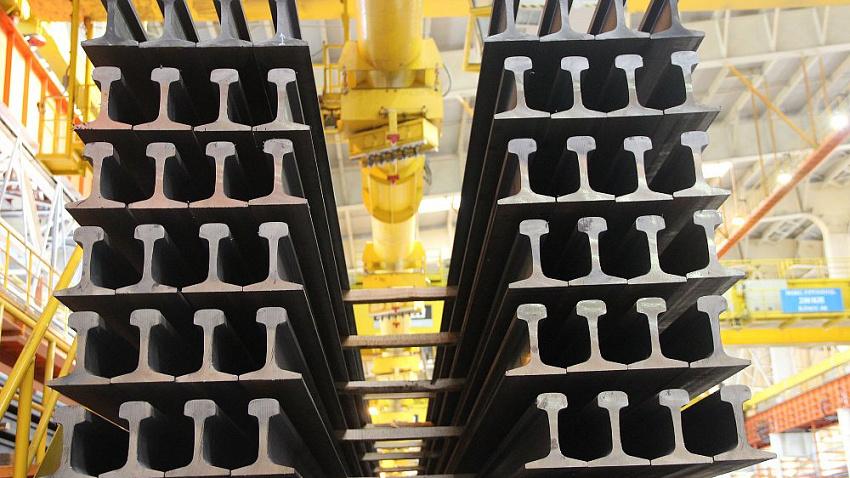 ЧМК на 84% увеличил продажи рельсовой продукции