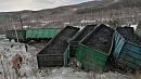 В Челябинской области на железной дороге сошли 19 вагонов с углем
