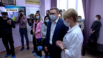Губернатор посетил областной госпиталь ветеранов