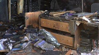 Женщина погибла во время пожара