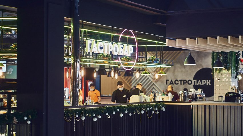 «Гастропарк» в ТРЦ «Фокус» станет двухэтажным