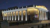 Здание филармонии вЧелябинске украсят архитектурной подсветкой
