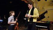 Денис Мацуев познакомился сюным челябинским скрипачом и обратился кего соседям